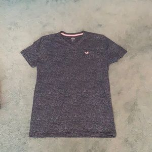 Mens Hollister Striped with Pink Logo S
